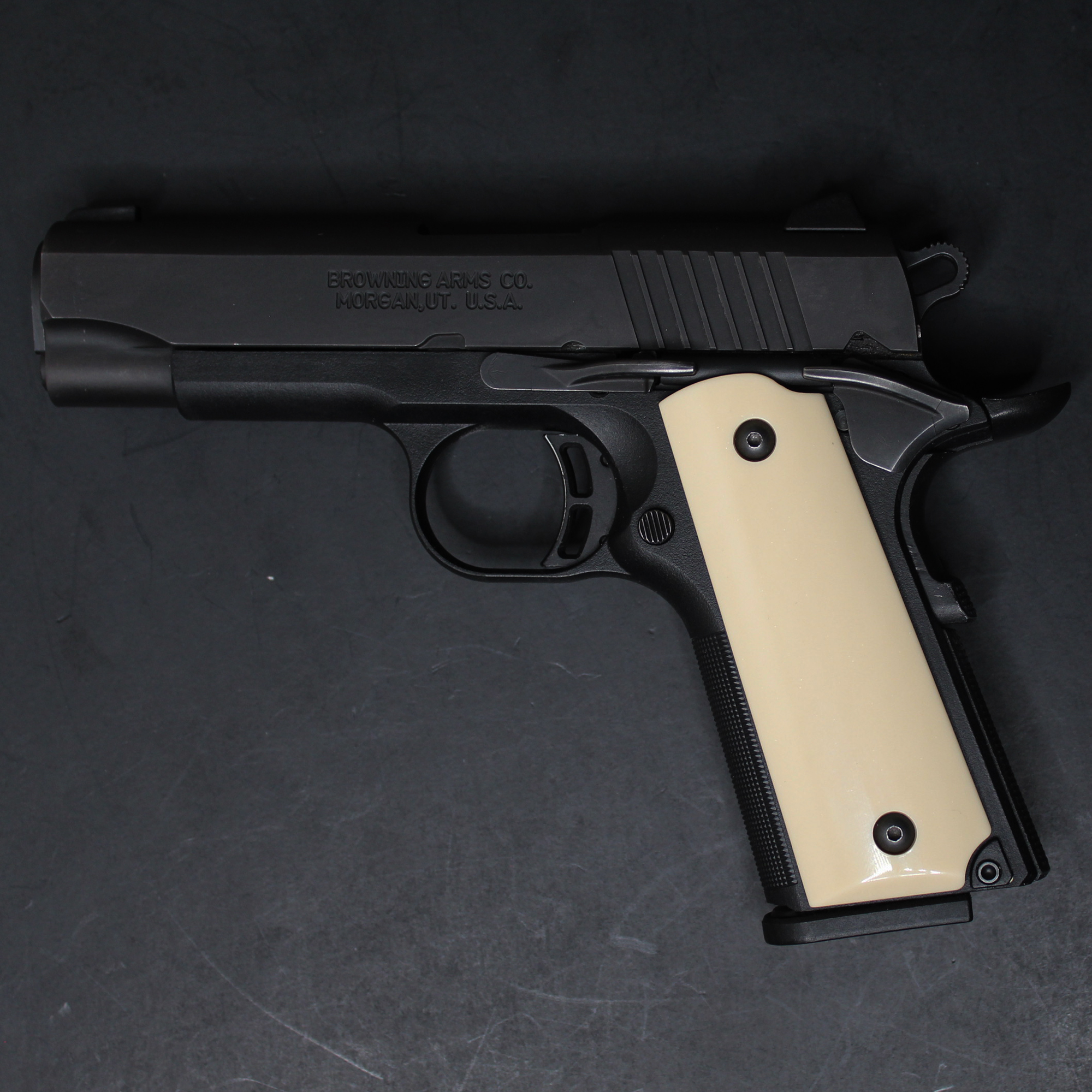 SMOOTH Browning 1911-22 380 1911a1 Black Label Polished Grips Details about  /DURAGRIPS